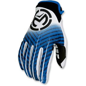 Moose Blue Sahara Youth Gloves - 33320804