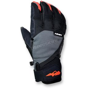 HMK Gray/Orange Union Gloves - HM7GUNIGOL