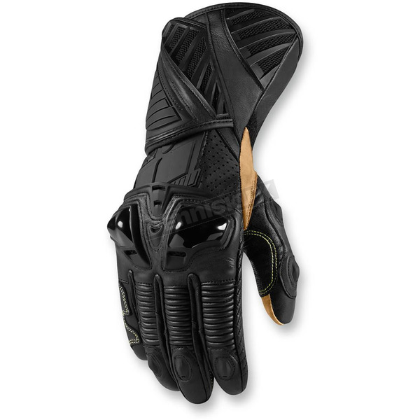 Icon Stealth Hypersport Long Gloves - 3301-2344