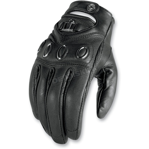 Icon Womens Hella Leather Gloves - 3302-0160