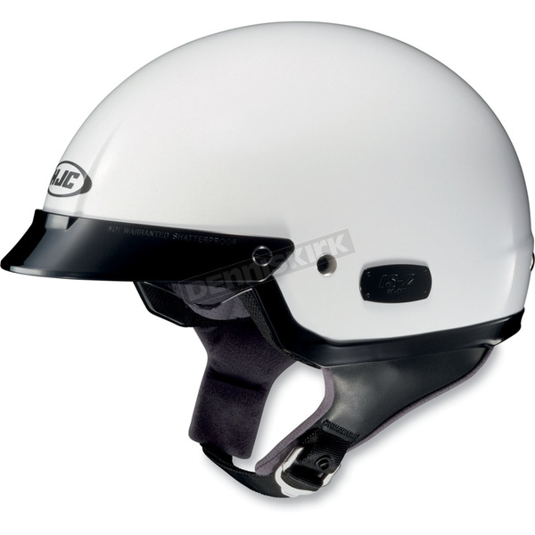 HJC IS-2 White Half Helmet - 58-128