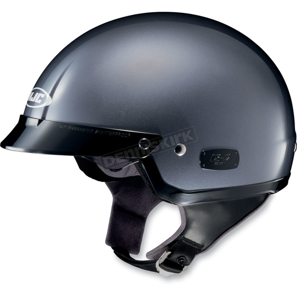 HJC IS-2 Anthracite Metallic Half Helmet - 480-563