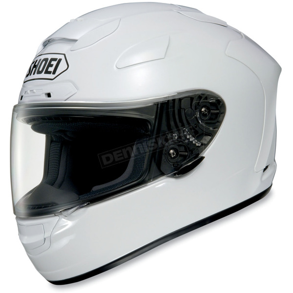 Shoei Helmets X-Twelve White Helmet - 0112-0109-06