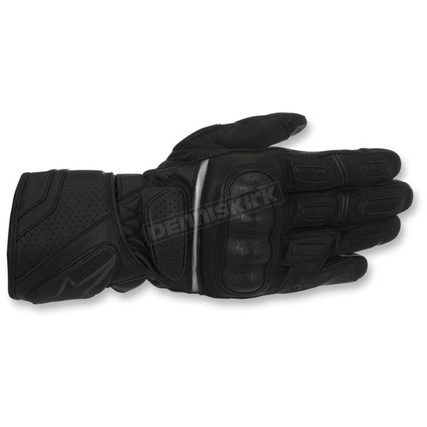 Alpinestars Black/Black SP-Z Drystar Gloves - 3527917-1100-XL
