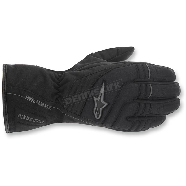 Alpinestars Womens Black/Grey Stella Transition Drystar Gloves - 3535515-105-XL