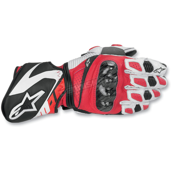 Alpinestars Red Sp-1 Gloves - 35581030L