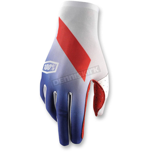 100% Blue Celuim Slant Gloves - 10005-002-10