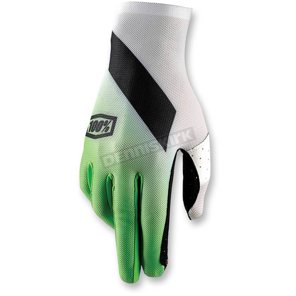 100% Green Celuim Slant Gloves - 10005-077-10