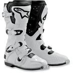 White Tech 8 Light Boots - 011011-200-11