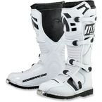 Youth White M1.2 Boots - 34110270