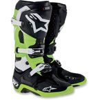 Black/Green Tech 10 Boots - 2010014167