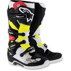 White/Black/Yellow Tech 7 Boots - 201201413610