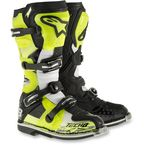 Yellow/Black/White Tech 8 RS Boots - 2011015-550-10