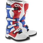 White/Red/Blue Tech 5 Boots - 2015015-237-10