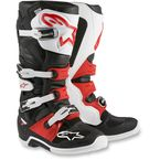 Black/White/Red Tech 7 Boots - 2012014-123-7