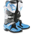 Cyan/White RV2 Tech 10 Boots - 2010014-729-7
