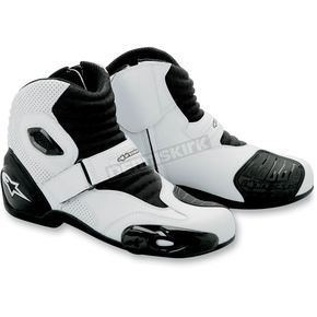 Alpinestars SMX 1 White/Black Boots - 222401221-38