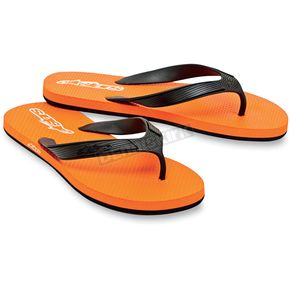 Alpinestars Orange Advocate Flip Flops - 1013-940404010