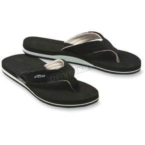 Alpinestars Black Substance Flip Flops - 1013-940421010