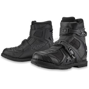 Icon Black Field Armor 2 CE Boots - 3403-0564