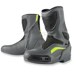 Icon Gray Overlord Boots - 3403-0605