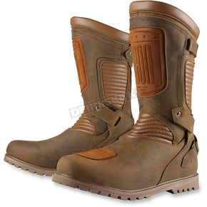 Icon Brown Prep Waterproof Boots - 3403-0630