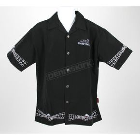 Easyriders Roadware Web Skull Dragonfly Shirt - 7527M