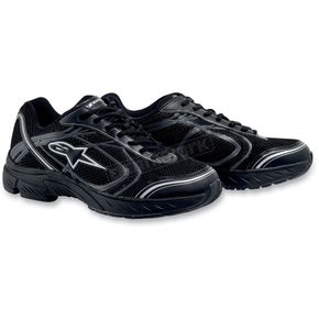 Alpinestars Black/Silver Crew Shoes - 2651011-119-135