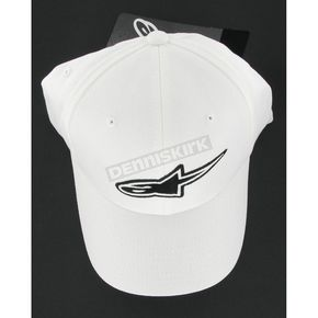 Alpinestars Logo Flex-Fit White Hat - 620101-20