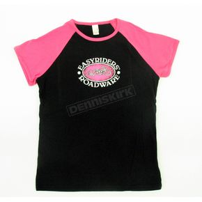Easyriders Roadware Pretty in Pink T-Shirt - 3057-M