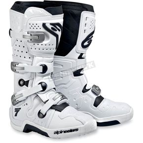 Alpinestars White Tech 7 Boots - 20120