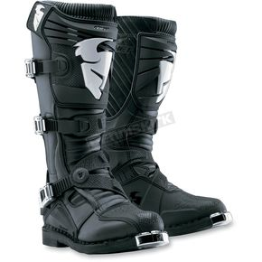 Thor Black Ratchet Boots - 3410-0740