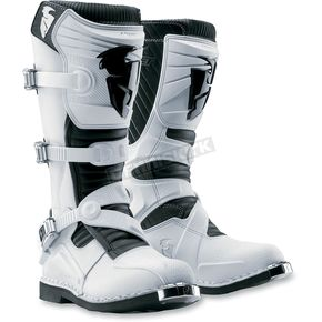 Thor White Ratchet Boots - 3410-0750