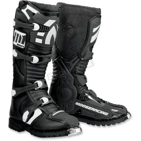 Moose Black M1.2 ATV CE Boots - 3410-0908