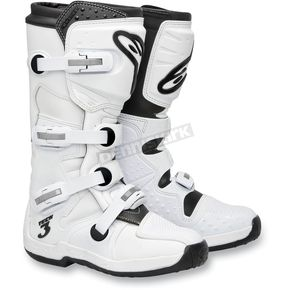 Alpinestars Super White Tech 3 Boots - 201307-200-10