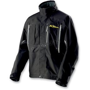 Klim Black Tomahawk Parka (Non-Current) - 3371-003-140-000