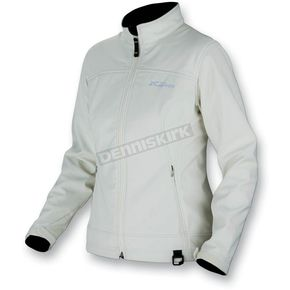 Klim Womens Cream Windstopper Whistler Jacket (Non-Current) - 4023-140