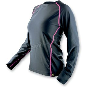 Klim Womens Black Base Layer Solstice Shirt (Non-Current) - 4020-140