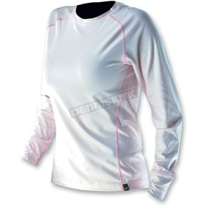 Klim Womens White Base Layer Solstice Shirt - 4020-130