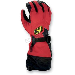 Klim Red Fusion Gloves - 3087