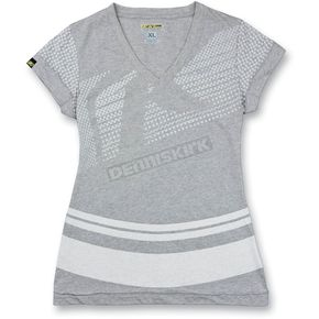 Klim Womens Heather Gray Kute Shirt - 4073-120