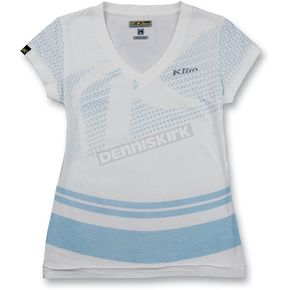 Klim Womens White Kute Shirt (Non-Current) - 4073-120-800
