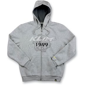 Klim Heather Gray Geard Hoody - 6006-140