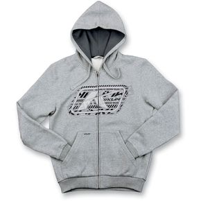 Klim Youth Heather Gray Rider Hoody (Non-Current) - 6012-002-660