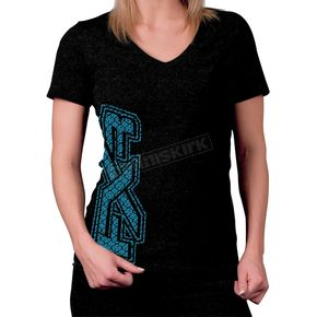 FXR Racing Womens Black Sanford T-Shirt - 2637
