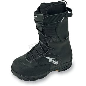 HMK Black Team Lace Boots - HM910TB