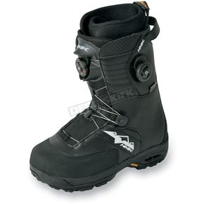 HMK Black Team Focus Boots - HM907TDUALB