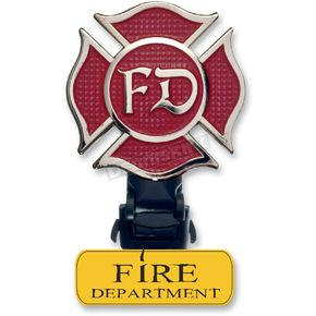 Biker Boot Strap Replacement Fire Department Clip  - BBS-FDC