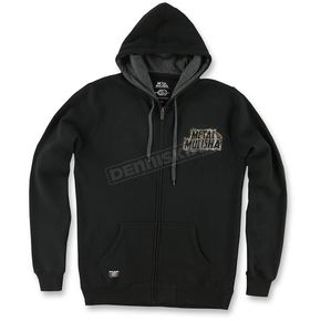 Metal Mulisha Mens Black Sight Hoody - M455S22403BLKXX