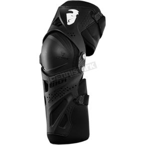Thor Youth Black Force XP Kneeguard - 2704-0431